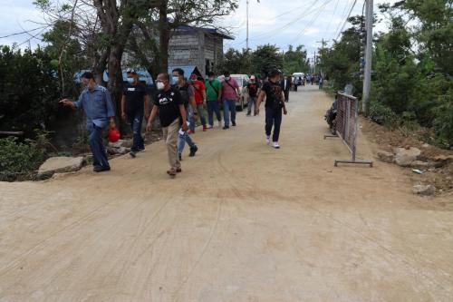 Local Access Road Rehabilitation improvement in Barangay Batasan –Suclayin- Camba