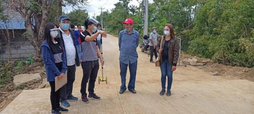 Local Access Road Rehabilitation improvement in Barangay Candating & Batasan